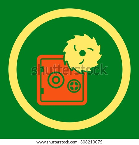 hacking theft vector icon this