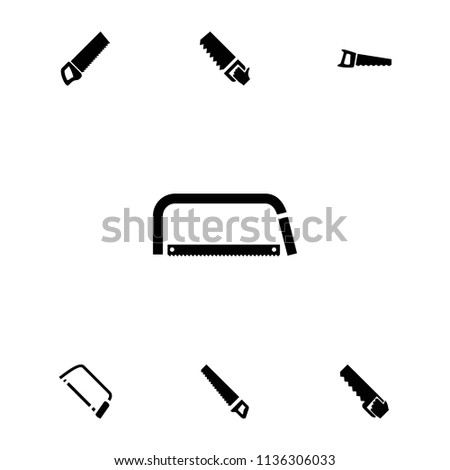 Hacksaw icon. collection of 7 hacksaw filled icons such as . editable hacksaw icons for web and mobile.