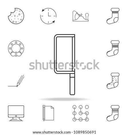 hacksaw line icon. Detailed set of web icons and signs. Premium graphic design. One of the collection icons for websites, web design, mobile app on white background