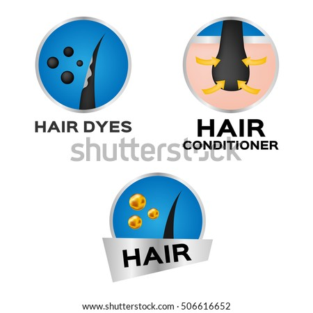 hair dyes and conditioner logo