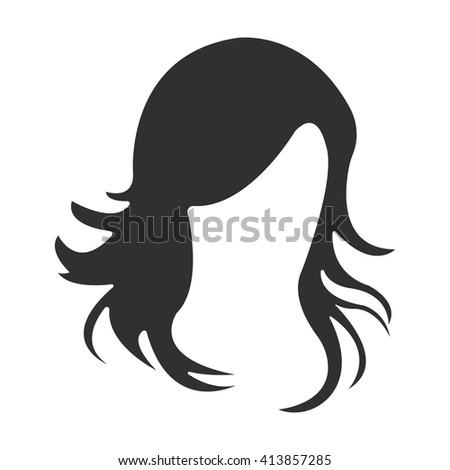 hair icon hair icon vector