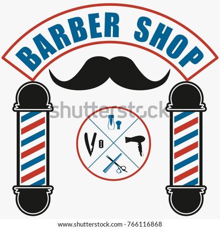 hair salon barber shop design ...