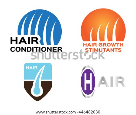 hair shampoo conditioner logo