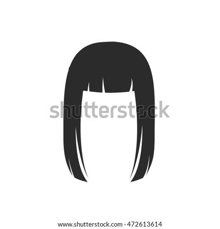 hair silhouette nr 32