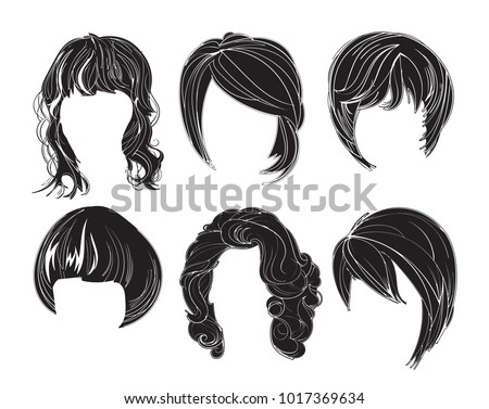 Free Hairstyle Vectors 2 Download Free Vector Art Stock Graphics
