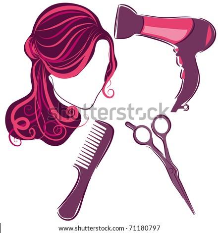 hair supplies clipart - photo #34