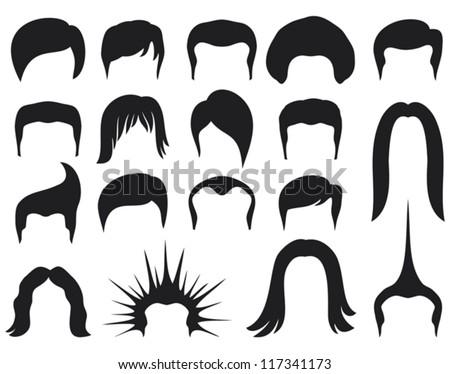 hair style set for men  hair