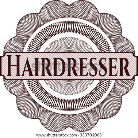 Hairdresser linear rosette