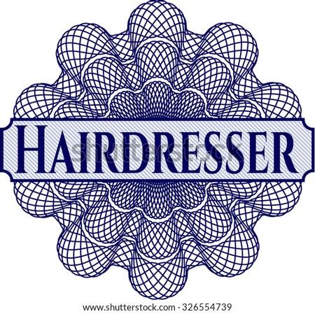 Hairdresser money style rosette