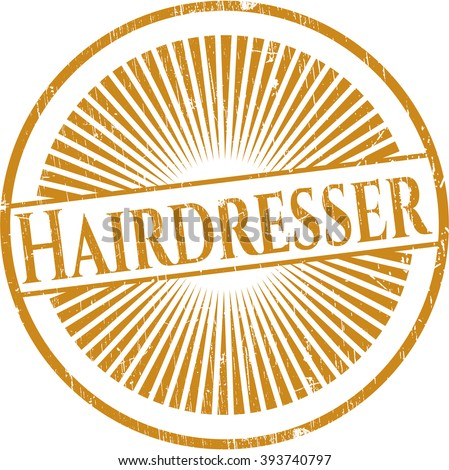 Hairdresser rubber seal