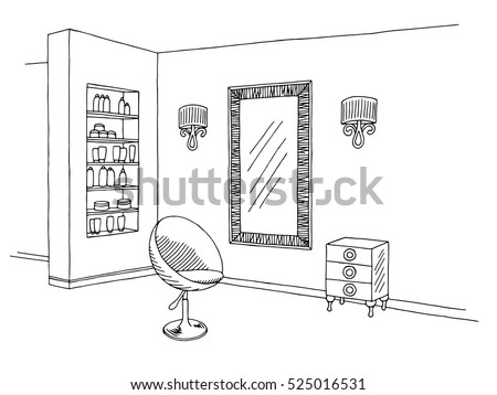 hairdressing salon graphic