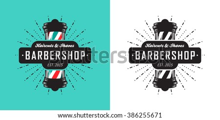hairdressing saloon icon with...