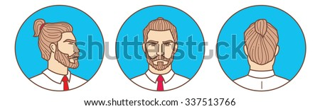 hairstyle illustration 2