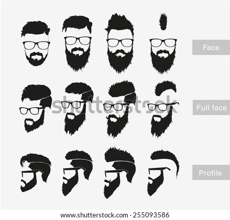 hairstyles with a beard in the