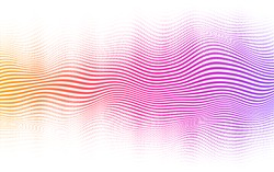 Halftone abstract background. Vector blending lines and dots.