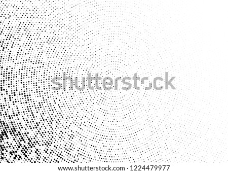 Halftone Background. Fade Dotted Overlay. Digital Gradient. Pop-art style. Grunge Backdrop. Modern futuristic Pattern. Abstract panel. Vector illustration