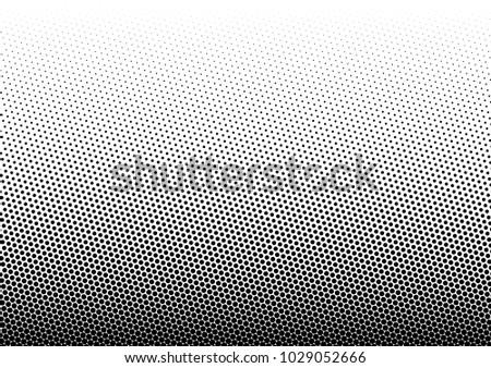 Halftone Background. Fade Dotted Overlay. Gradient Pop-art Backdrop. Modern Pattern. Vector illustration