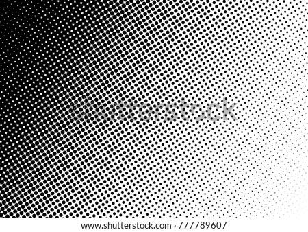 Halftone Background. Fade Gradient Backdrop. Modern Pop-art Pattern. Points Overlay. Vector illustration