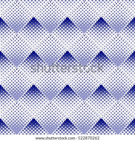 Halftone background seamless pattern-vector illustration. A smooth transition of color. Dots ornament texture.