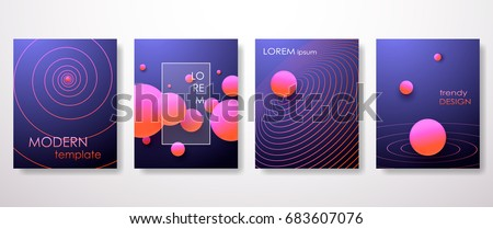 Halftone,3d, Minimal covers design,gradients, ball shapes. Tech cover,futuristic banner, future template,abstract flyer, poster,trendy presentation, minimalist brochure. Vector geometric illustration