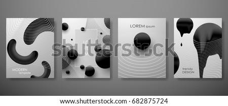 halftone  3d  minimal covers