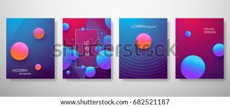 Halftone,3d, Minimal covers design,gradients, balls shapes. Tech cover,futuristic banner, future template,abstract flyer, poster,trendy presentation, minimalist brochure. Vector geometric illustration