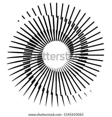 halftone design element sphere