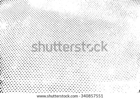 Halftone Distressed Overlay Texture for your design. EPS10 vector.