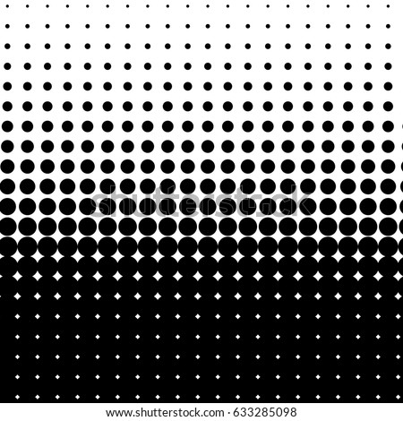 Halftone dot pattern, element, monochrome abstract graphic for dtp, dpi prepress or generic concepts. Vector modern background for posters, sites, postcards, interior design, business cards.