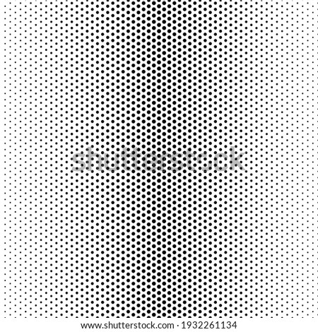 Halftone dot. Seamless pattern. Fade gradient. Background dots. Point noise texture. Overlay effect. Gradation opacity transition. Half tone polka. Pop art design. Dotted poka. Polkadot patern. Vector