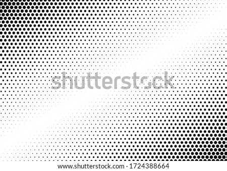 Halftone Dots Background. Grunge Distressed Overlay. Fade Abstract Pattern. Pop-art Texture. Vector illustration