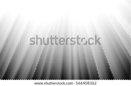 Halftone dots vector texture background.