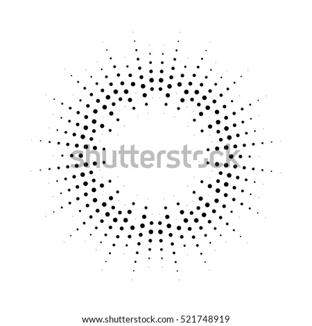 halftone effect vector