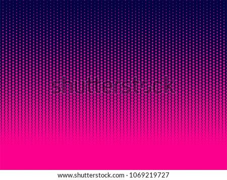 stock-vector-halftone-gradient-pattern-vertical-vector-illustration-pink-dark-blue-dotted-blue-halftone