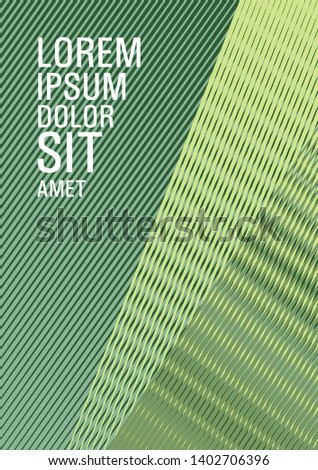 Halftone lines texture vector print background. Laconic corporate style. Trendy magazine backdrop. Stationery notebook cover design. Party invitation flyer cool background.