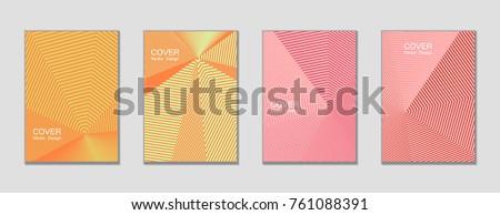 halftone vector cover templates
