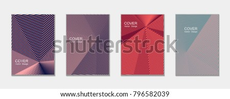 stock-vector-halftone-vector-cover-templates-set-with-lines-graphics-tech-journal-design-geometric-shape