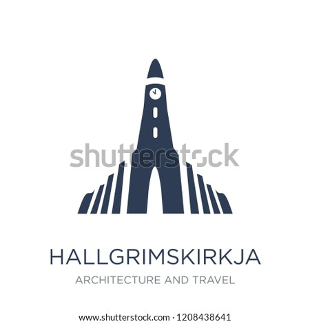 hallgrimskirkja icon trendy