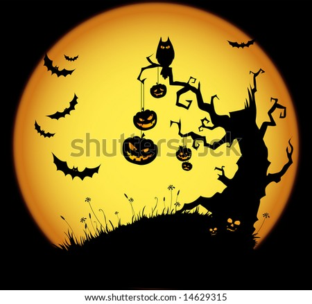 Halloween Stock Vector Illustration 14629315 : Shutterstock