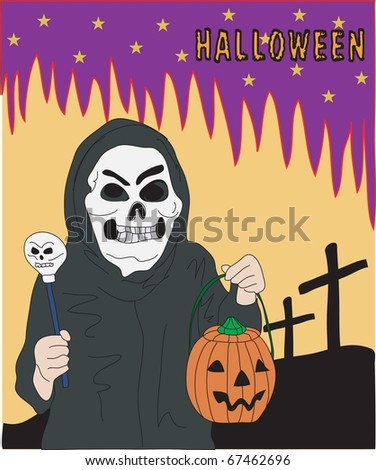 Halloween and the Skeleton Costume