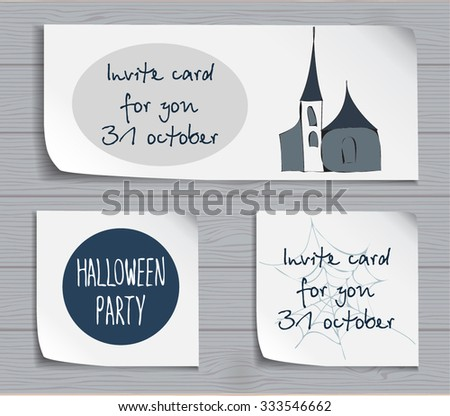halloween attributes with