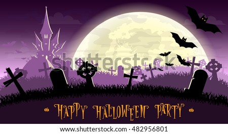 halloween background monsters