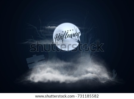 halloween background night sky