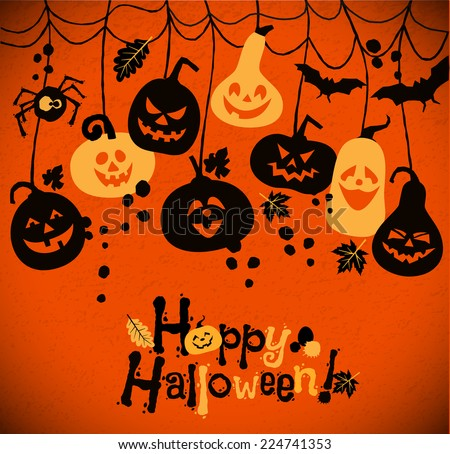 halloween background of
