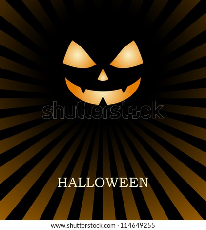 Halloween background vector design silhouette