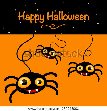 halloween background with a