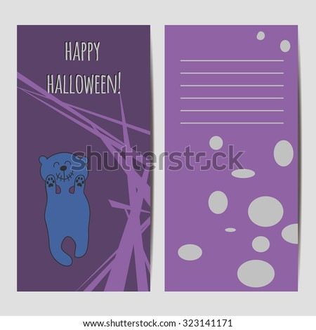 halloween banners and