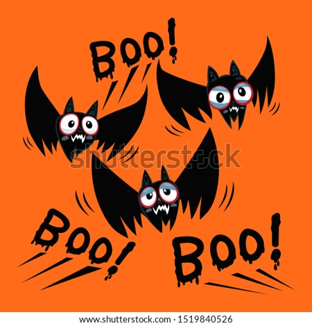 halloween bats of halloween and