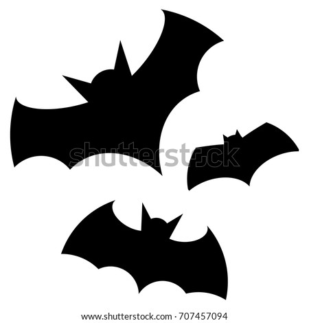 stock-vector-halloween-black-bat-icon-set-bats-silhouettes-halloween-symbol