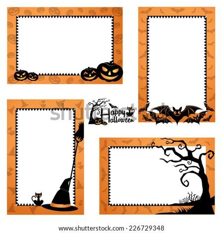 20+ Halloween Border Vectors | Download Free Vector Art & Graphics ...
